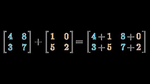 Matrix addition & subtraction (article) | Khan Academy