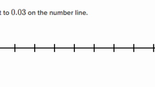 Comparing decimal numbers on a number line video – Free Math Worksheets Number Lines
