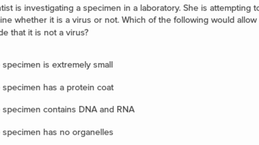 Virus structure and reproductive cycle questions (practice
