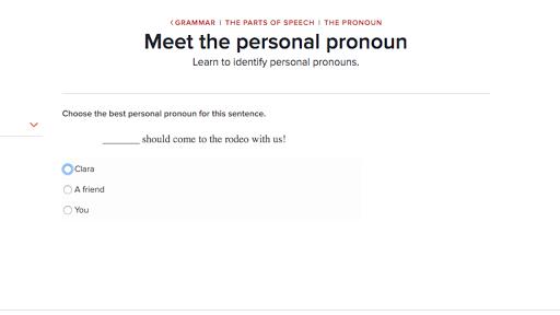 Parts of speech the pronoun Grammar – Parts of Speech Worksheet High School