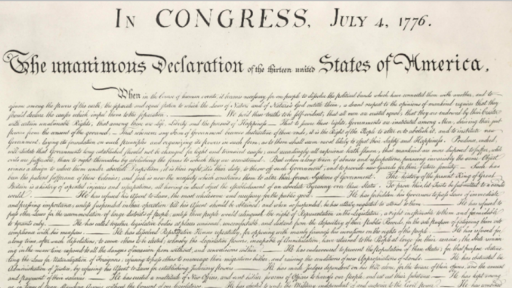 democratic ideals in the declaration of independence video khan academy