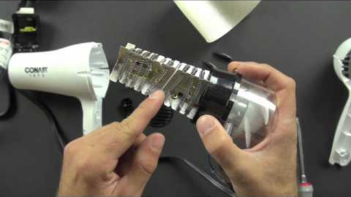 What is inside a hair dryer? (2 of 2) Hair Dryer Wiring Schematic on
