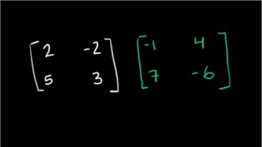 Intro to matrix multiplication