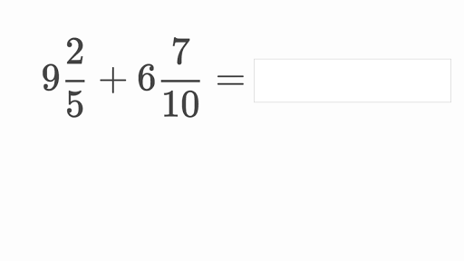 Add and subtract mixed numbers with unlike denominators ...