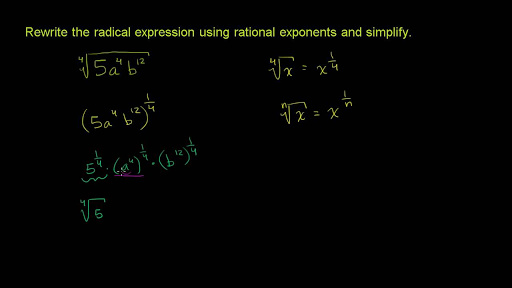 rational exponents  radicals  algebra i  math  khan academy