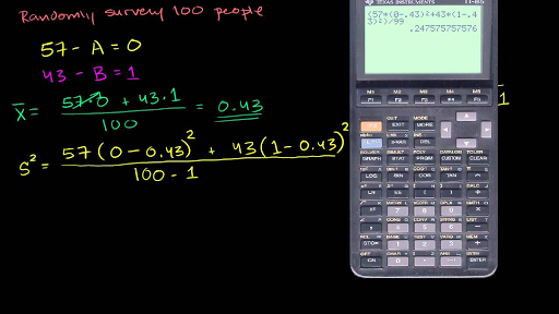 Margin Of Error 1 Video Khan Academy