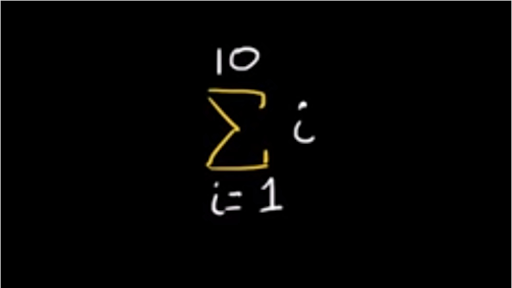 Summation Notation Video Series Khan Academy