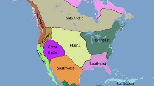 Map Of Canada 6th Grade.About Geography And Chronological Periods In Native American Art