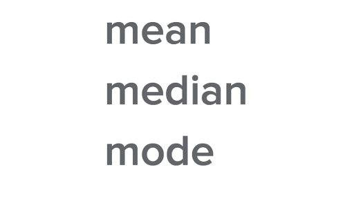 Mean Median And Mode Review Article Khan Academy