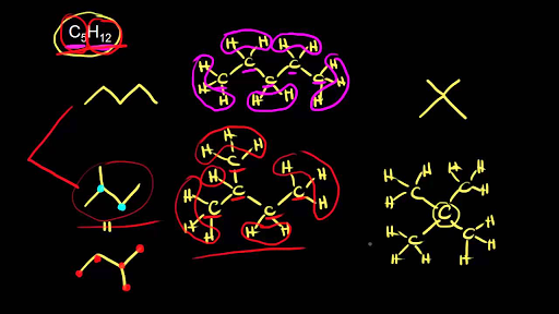Structural Constitutional Isomers Video Khan Academy
