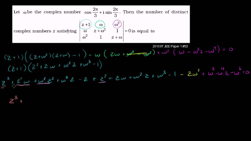Challenging complex numbers problem: complex determinant (video ...