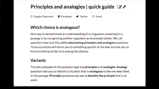 Principles and analogies | quick guide (article) | Khan Academy