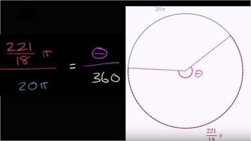 Arc Length Practice Circles Khan Academy