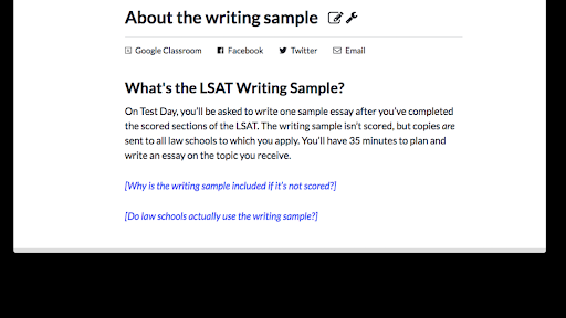 about the writing sample article lessons khan academy