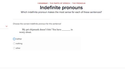 Parts of speech: the pronoun | Grammar | Arts and humanities