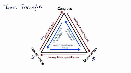 compare and contrast political parties and interest groups