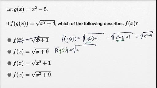 SAT Math practice Test prep – College Math Worksheets