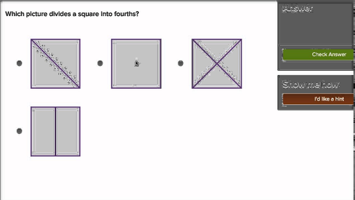 halves and fourths practice geometry khan academy