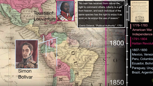 Latin American independence movements (video) | Khan Academy