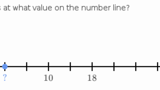 Missing numbers on the number line practice khan academy ccuart Image collections