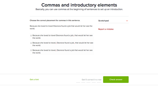 Punctuation The Comma And The Apostrophe Grammar Khan Academy