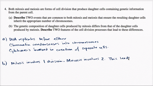 Ap biology essay exam questions