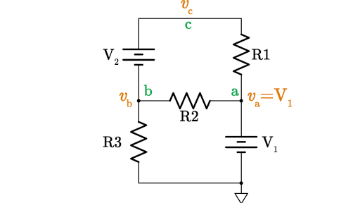node voltage method (article) khan academyLet39s Analyze A Simple Series Circuit Determining The Voltage Drops #18