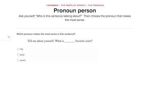 Parts of speech the pronoun Grammar – Parts of Speech Worksheets 6th Grade