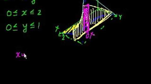 Double integrals 2