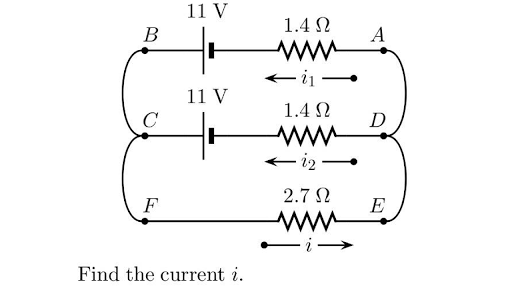 Basic electrical quantities: current, voltage, power (article ...
