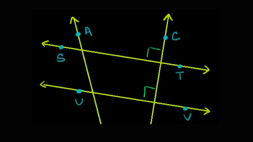 Parallel Perpendicular Lines Basic Geometry Video Khan Academy