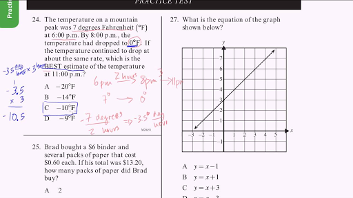 CAHSEE Math Exam: Test Prep & Study Guide - Practice Test ...