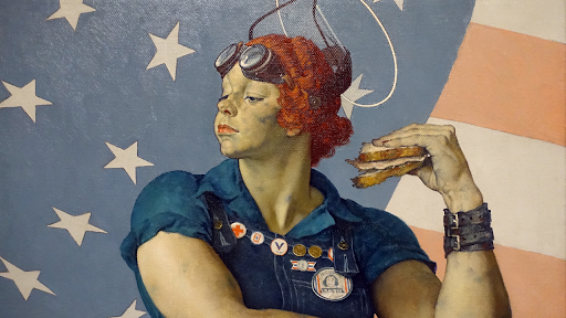 Norman Rockwell Rosie The Riveter Video Khan Academy