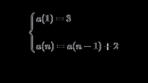 write a recursive formula for the sequence 7 13 19