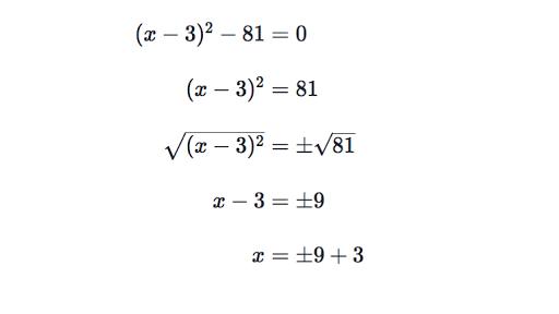 Solving Simple Quadratics Review Article Khan Academy