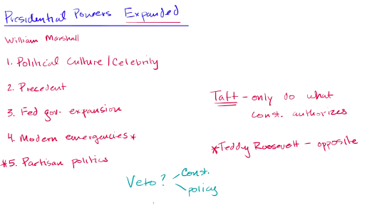 Expansion Of Presidential Power Video Khan Academy