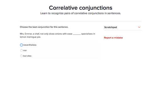 Correlative conjunctions practice – Correlative Conjunctions Worksheet