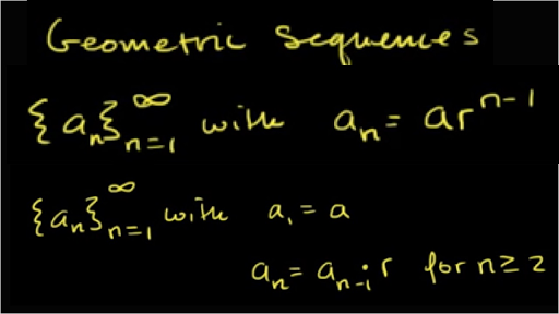 Intro to geometric sequences (advanced)