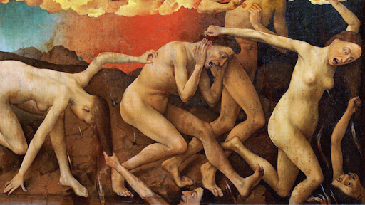 Risultati immagini per van der weyden last judgement