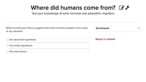 Homo sapiens and early human migration article – Patterns of Evolution Worksheet