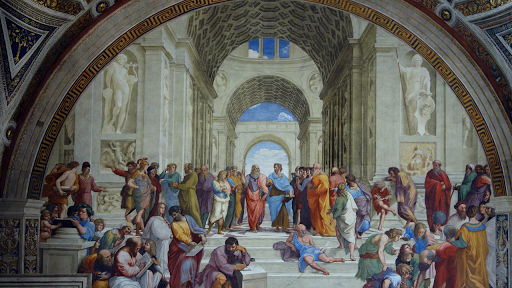 an introduction to the history of the school of athens created by rafael sanzio Introducing online learning strategies and methods in the indonesian higher education context visual cultures,  rafael sanzio 'school of athens.