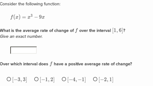 Average rate of change word problems worksheet with answers