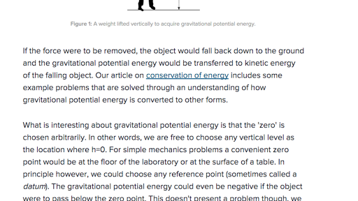 What is gravitational potential energy? (article) | Khan Academy