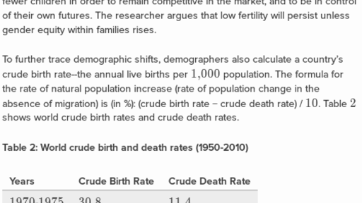 the demographic transition refers to a countrys change from