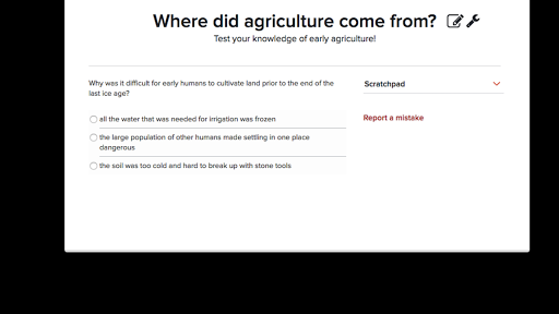 The Dawn Of Agriculture Article Khan Academy