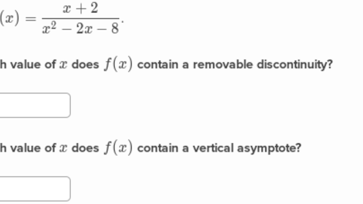 F X H F X H Calculus: Analyze Vertical Asymptotes Of Rational Functions