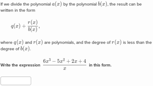 Arithmetic With Polynomials Algebra Ii Math Khan Academy