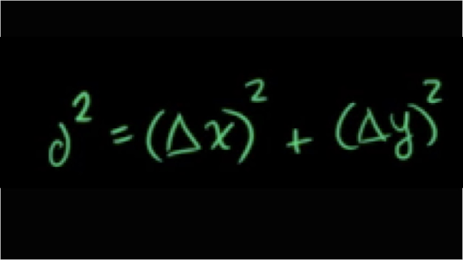 equation for distance and time