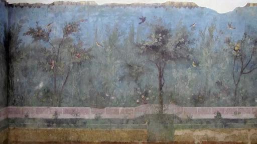 Dionysiac frieze Villa of Mysteries Pompeii video