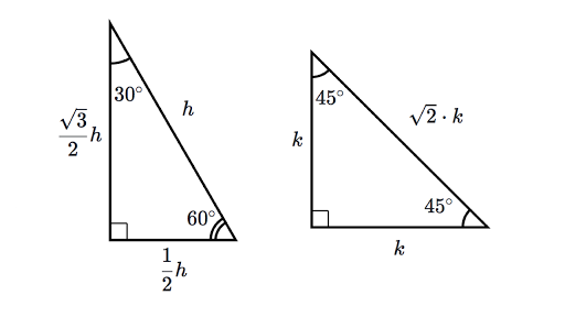 Special right triangles intro part 1 video – 45 45 90 Triangle Worksheet